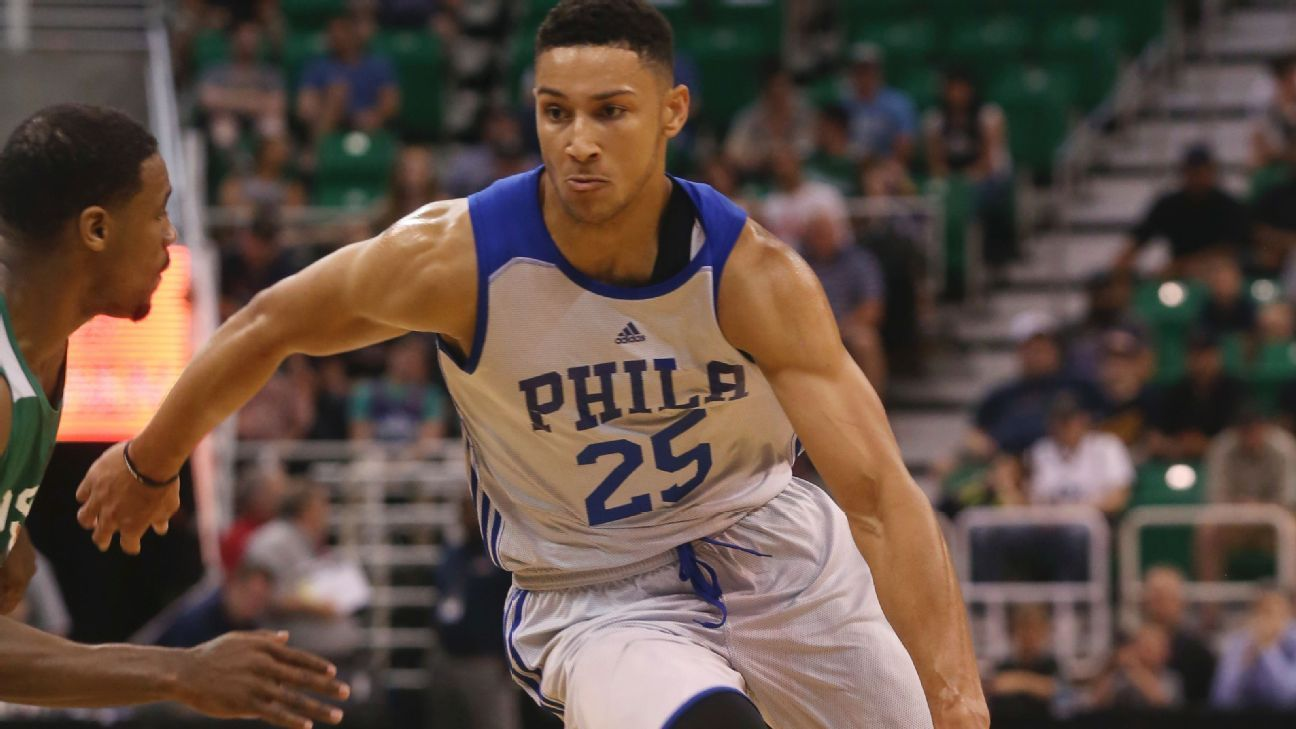 Philadelphia 76ers guard Ben Simmons cleared for full activity; Joel Embiid still awaiting clearance