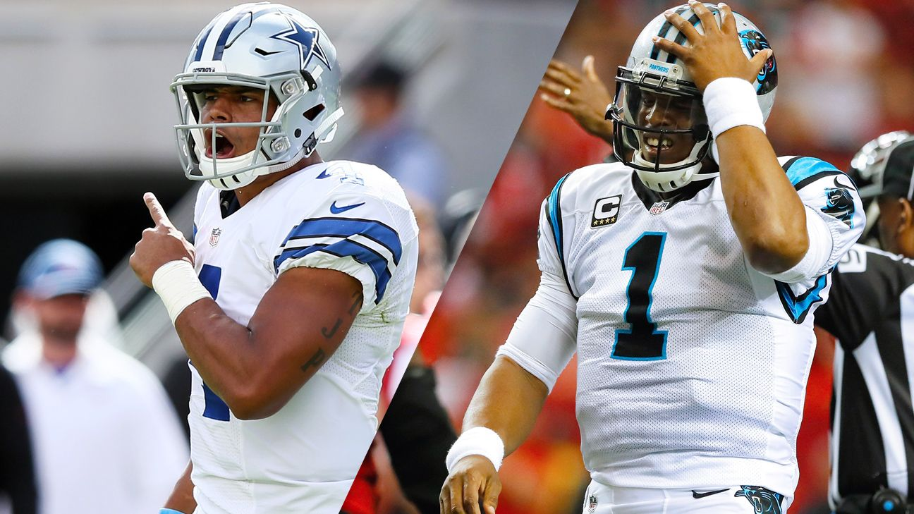 NFL Week 1: Dallas Cowboys vs Carolina Panthers ATS Picks