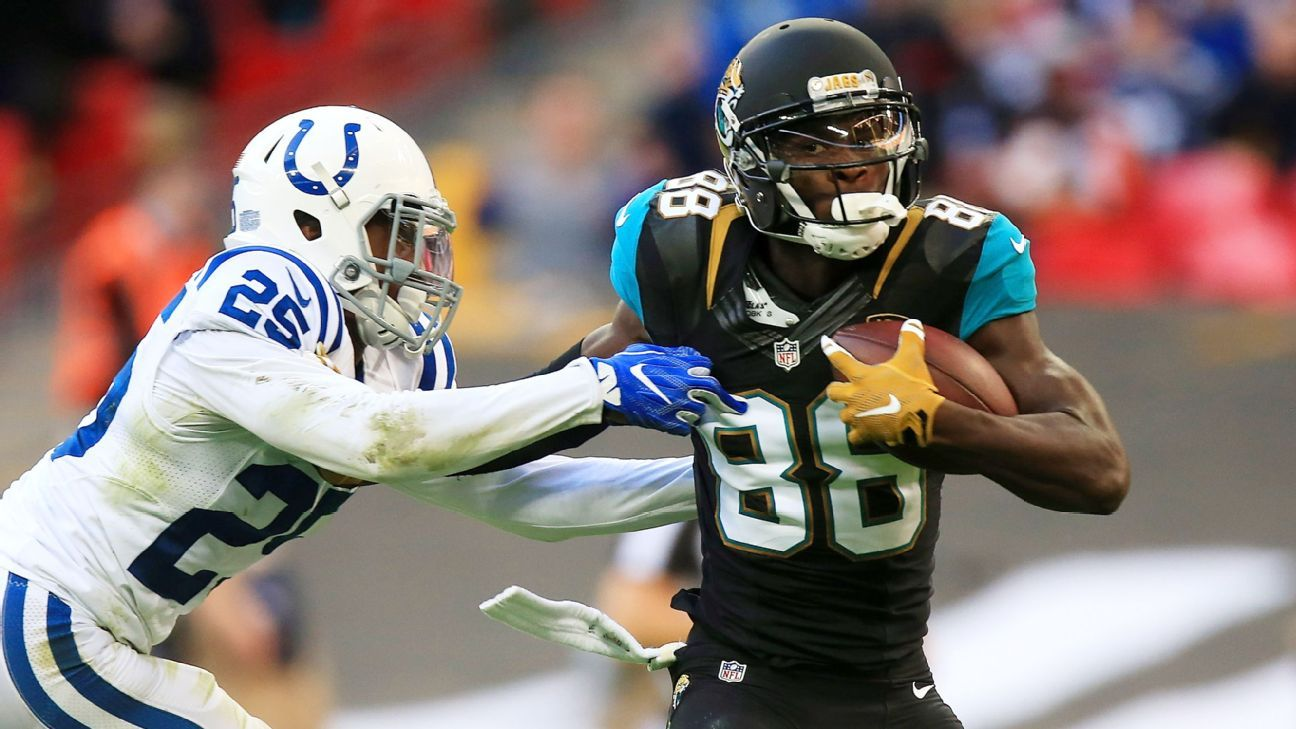 Former Jaguars WR Allen Hurns told ESPN's Josina Anderson that he will sign with the Cowboys.