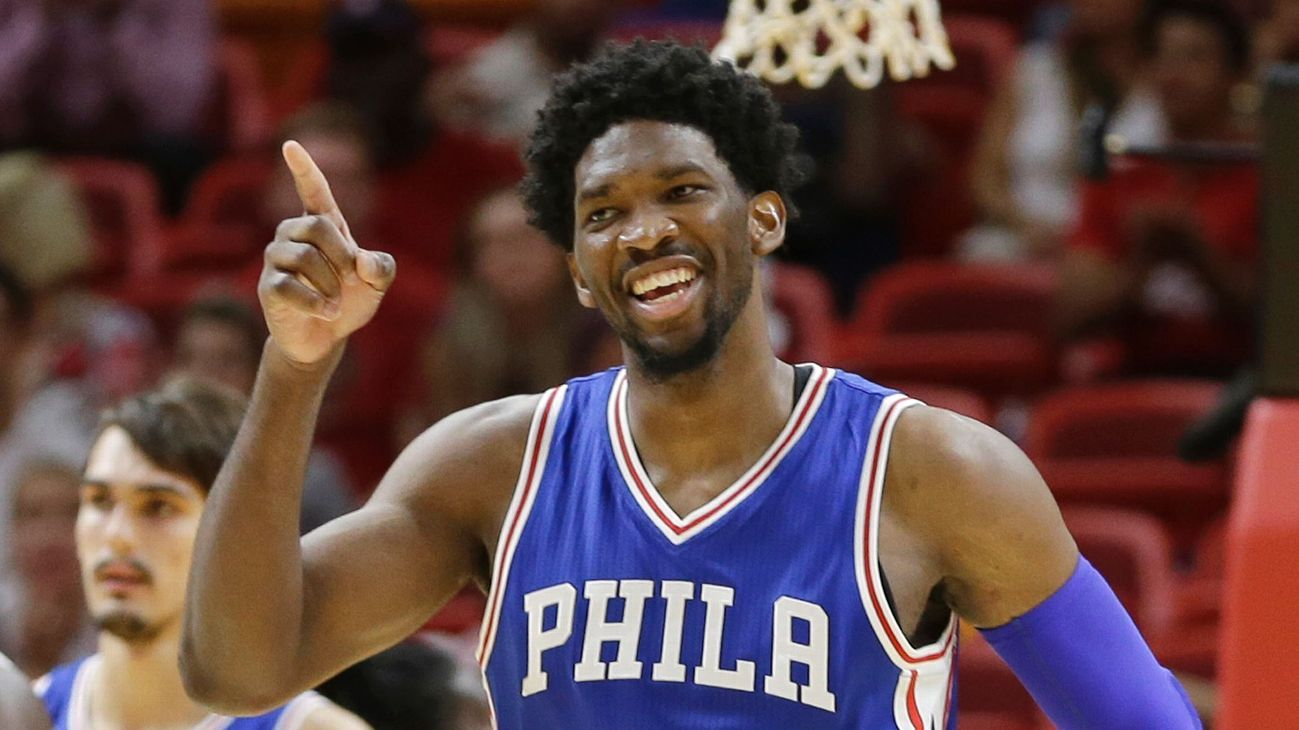 Karl-Anthony Towns, Joel Embiid highlight NBA's Rising Stars rosters