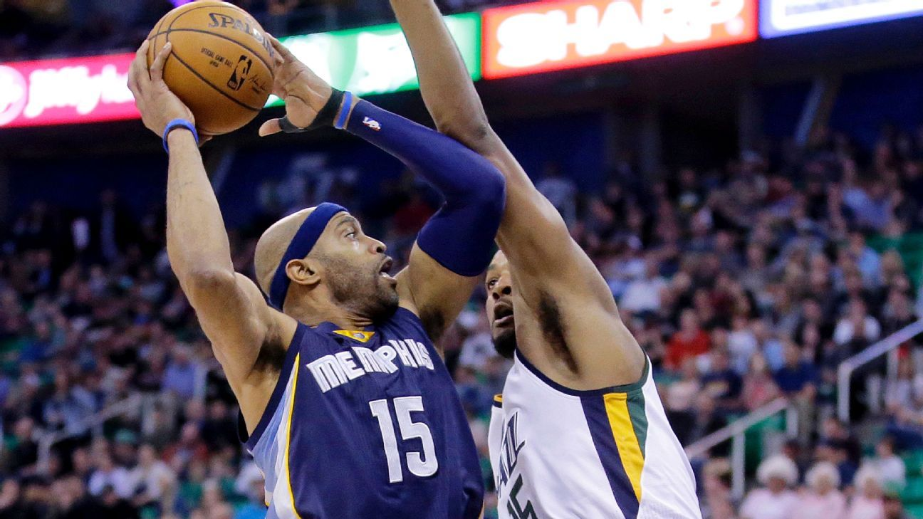 Memphis Grizzlies Vince Carter rising at age 39 - NBA- ESPN