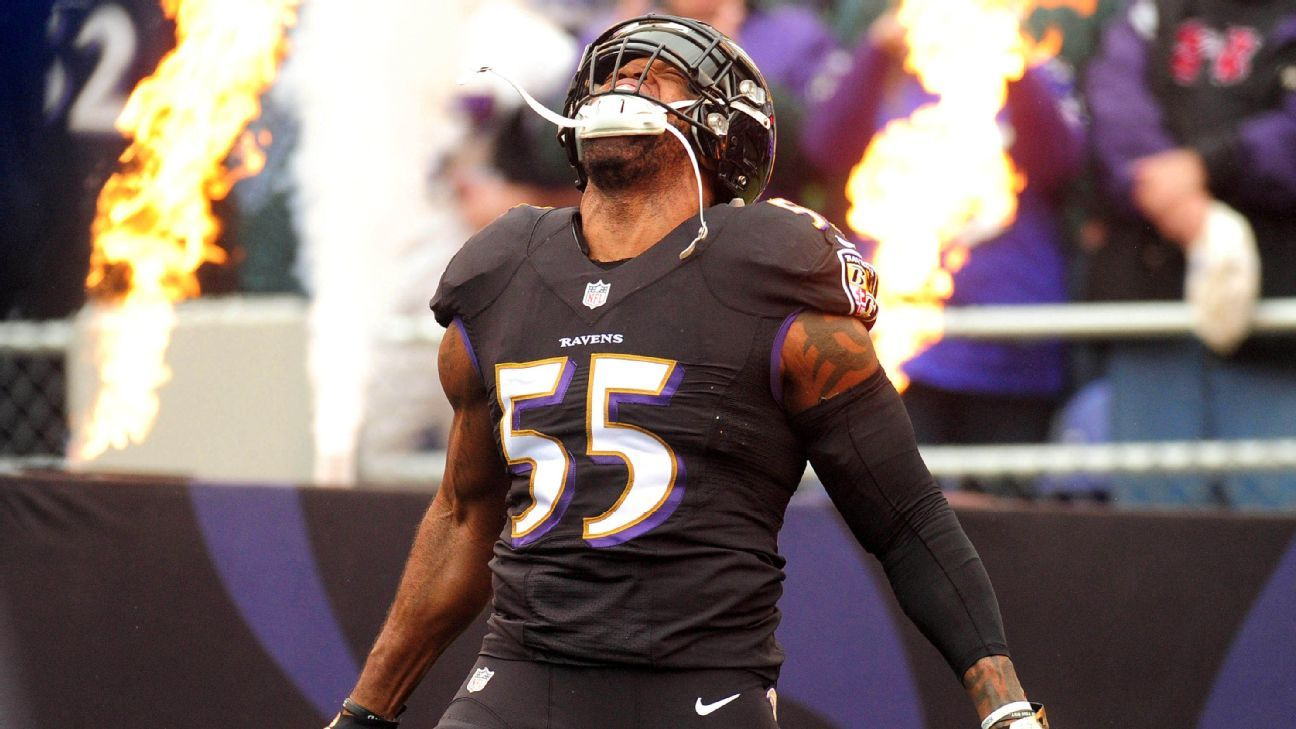 Terrell Suggs held out of Ravens' voluntary offseason ...