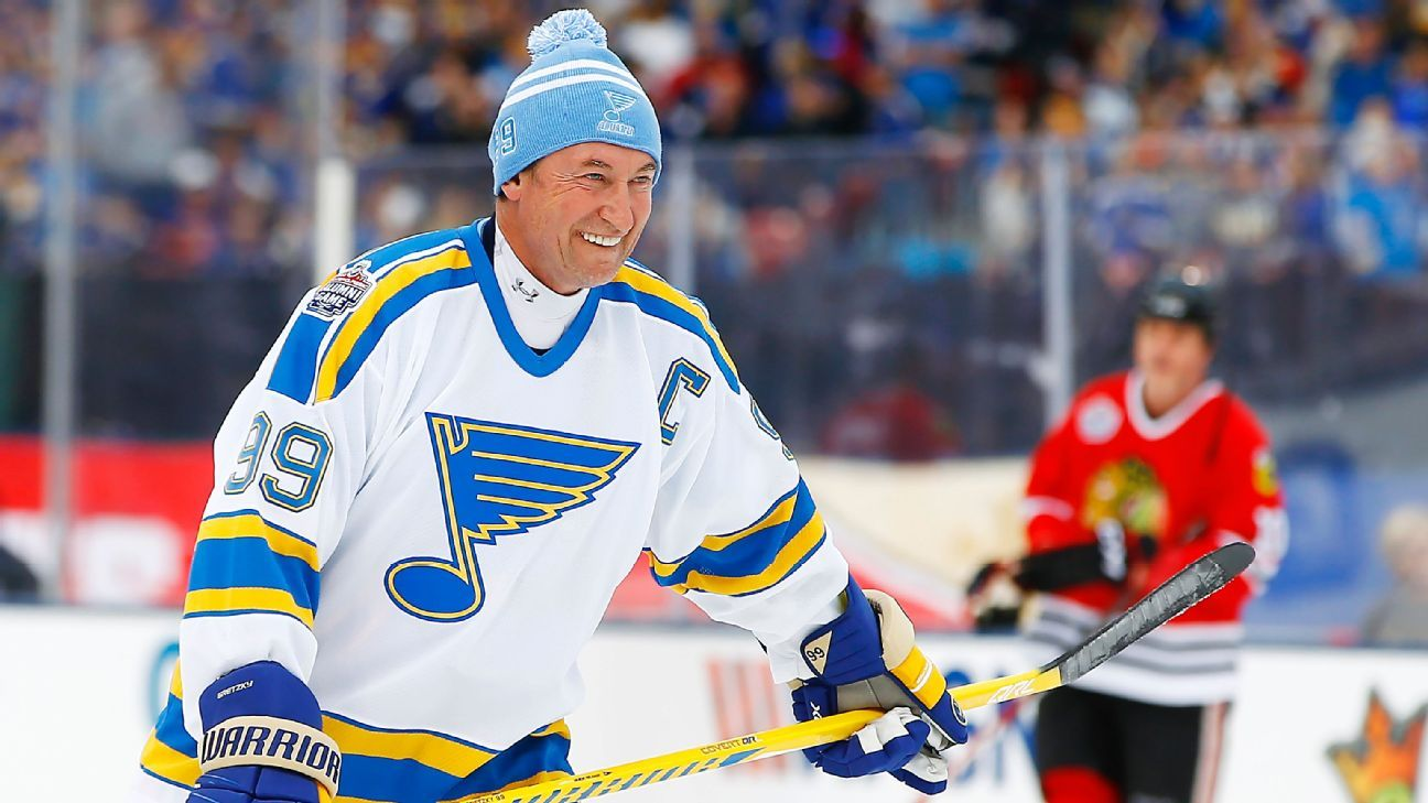 Wayne Gretzky: Outdoor NHL games good for growth of sport