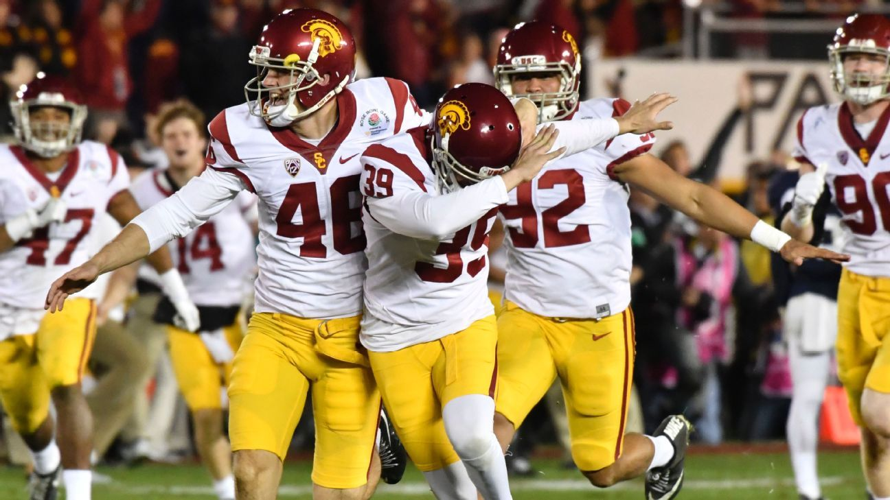 Petition filed as kicker Matt Boermeester seeks reinstatement to USC