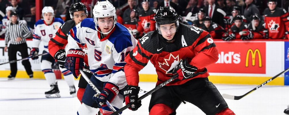 NHL - Ranking The Top 50 Prospects Following The WJC