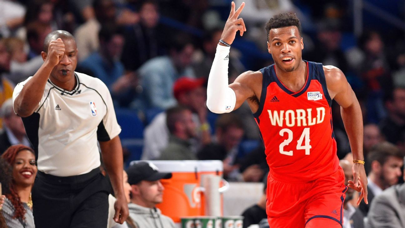 2017 Nba All Star Game World Dumps U S In Rising Stars
