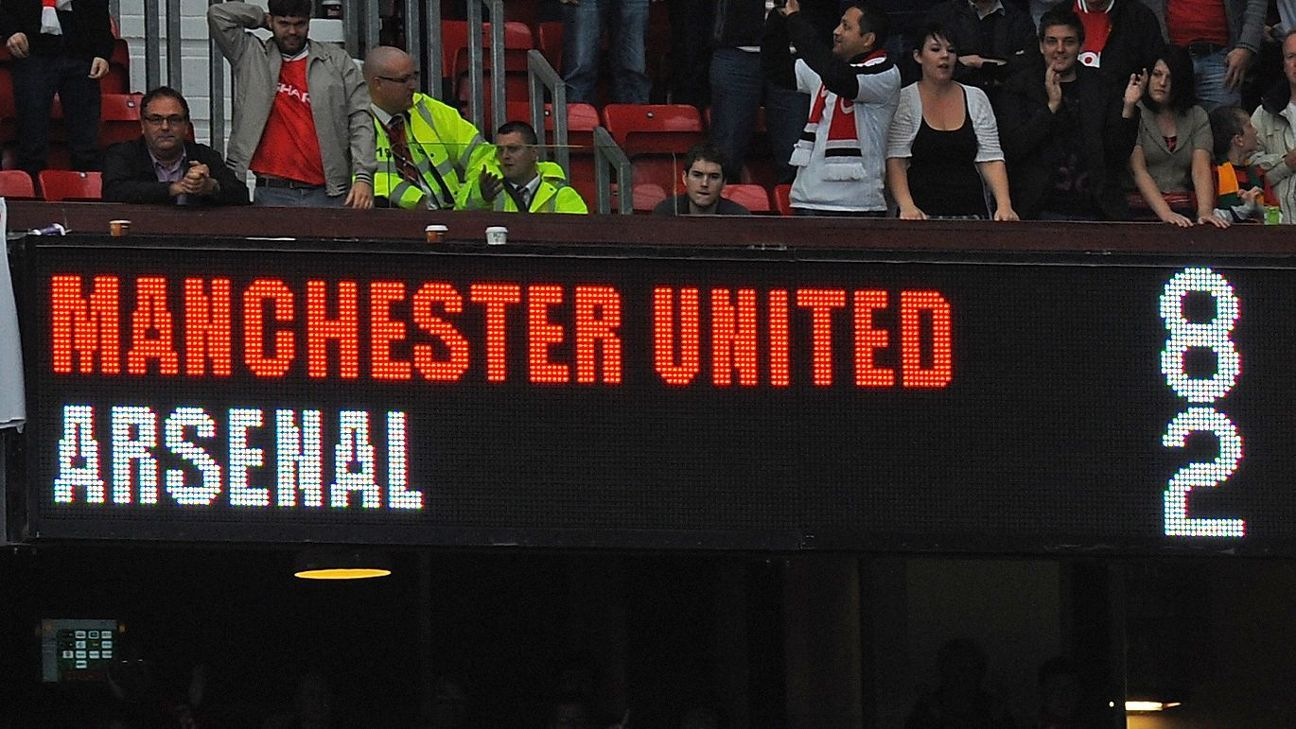 on anniversary of 8 2 loss to man united nothing has changed at