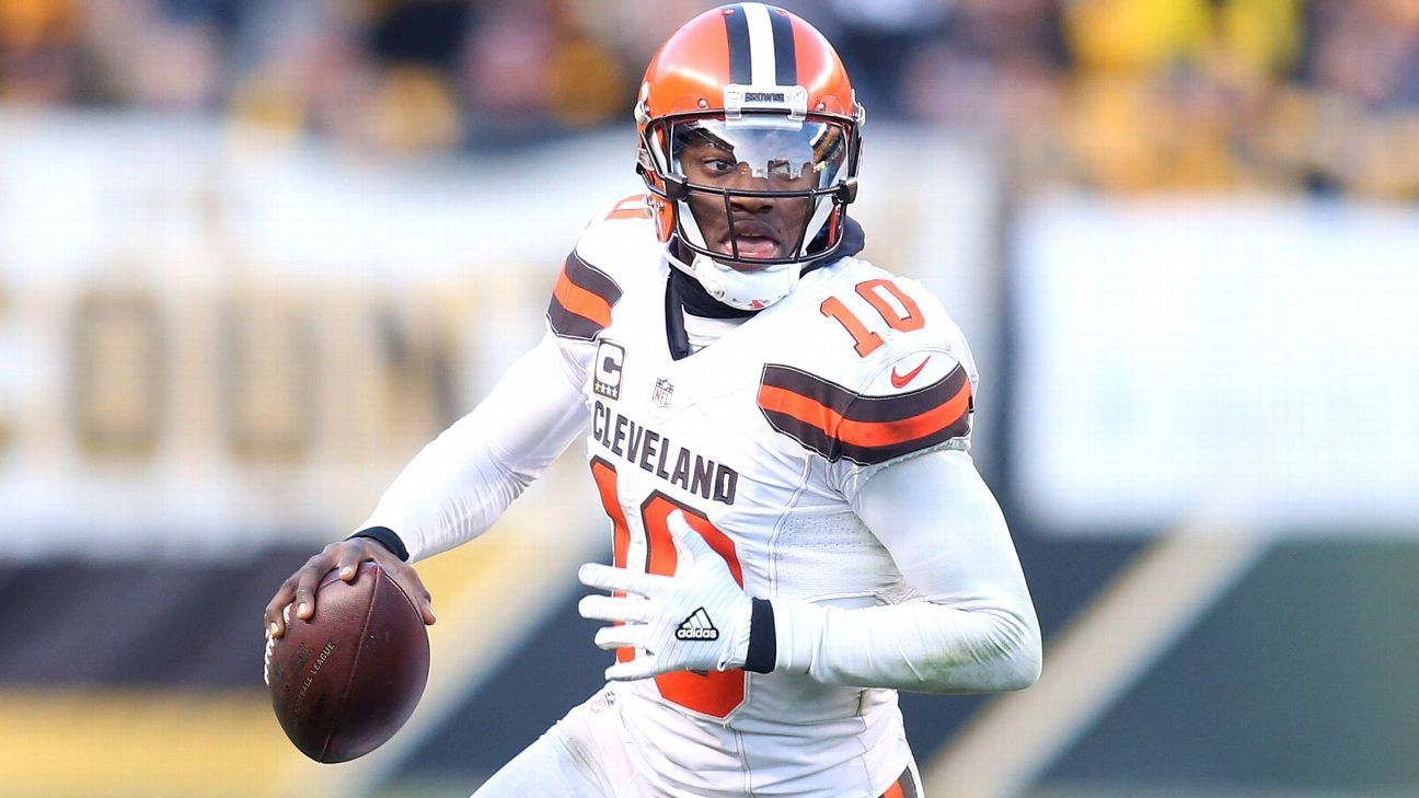 Robert Griffin III would offer Chargers a backup QB with mobility