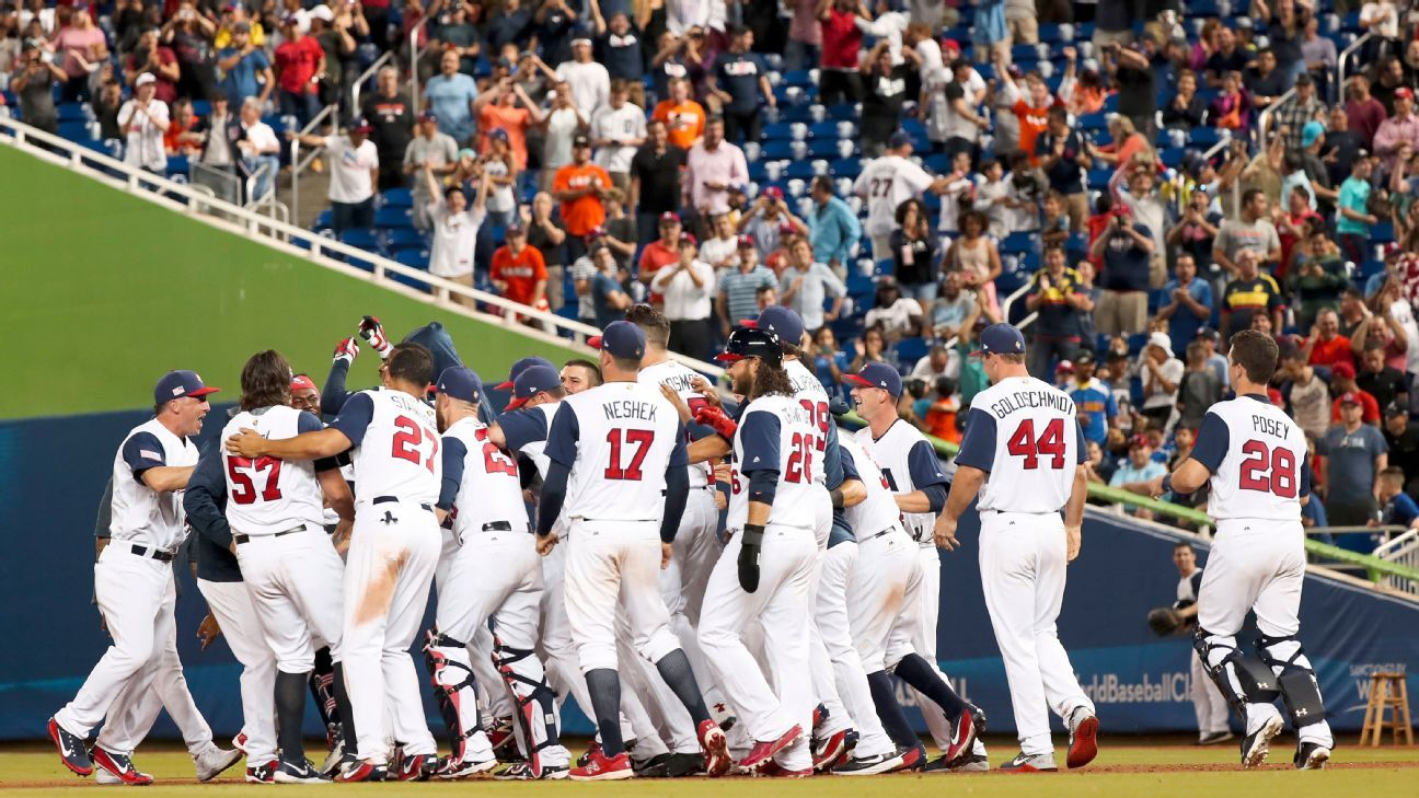 US, Puerto Rico earn 1st-round wins at World Baseball Classic
