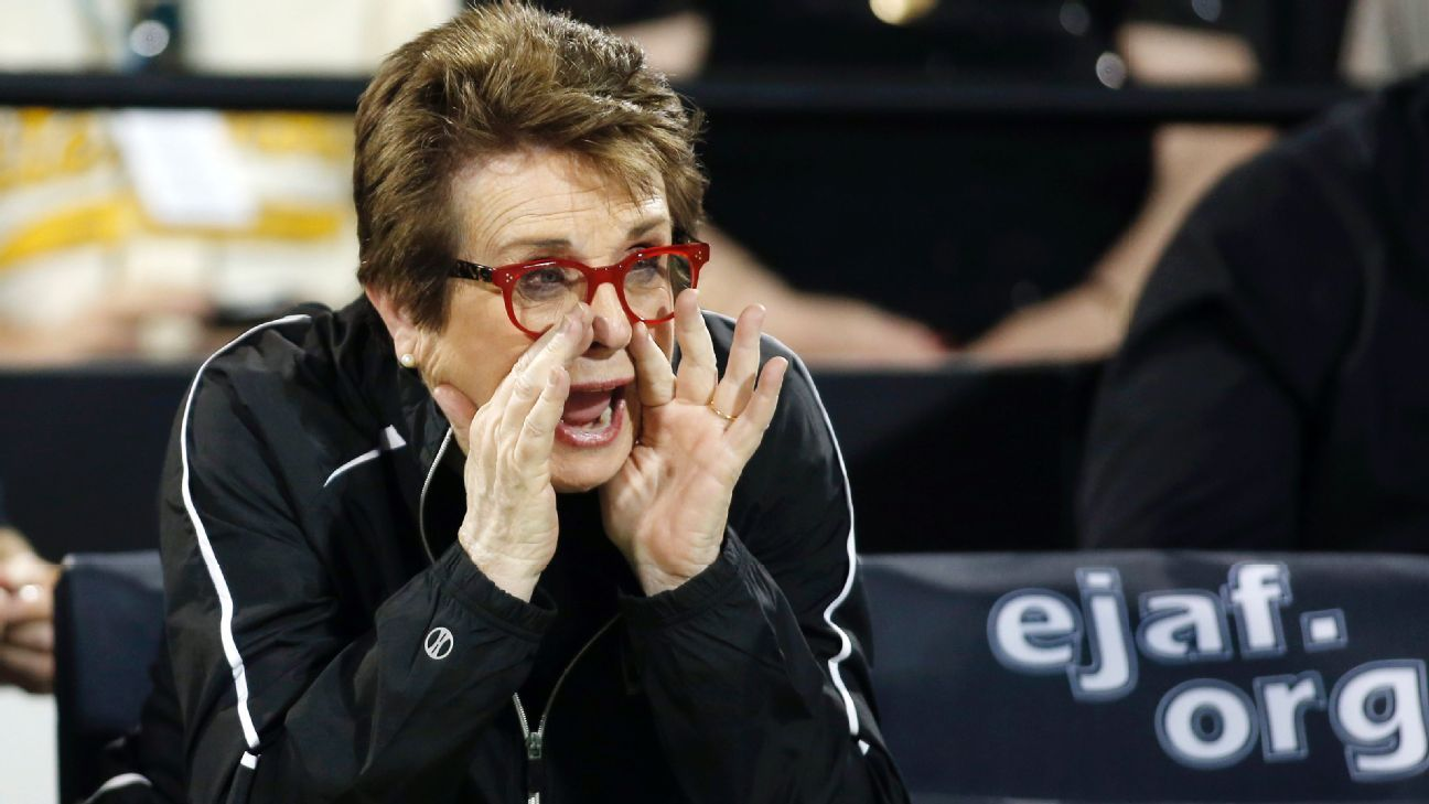 World Team Tennis the epitome of Billie Jean King's dream