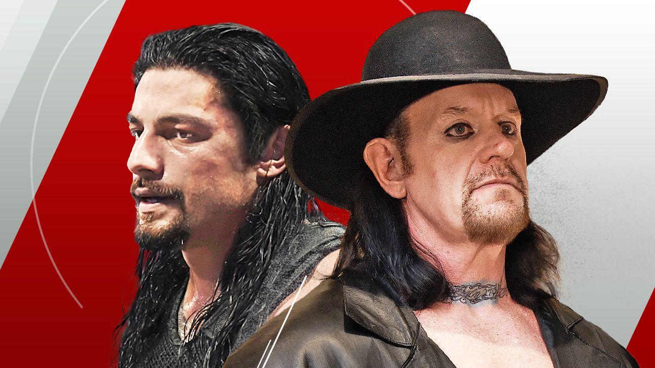 Wwe Wrestlemania 33 Cheat Sheet Undertaker Vs Roman