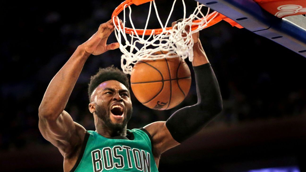 Celtics' Brown questionable with hip injury