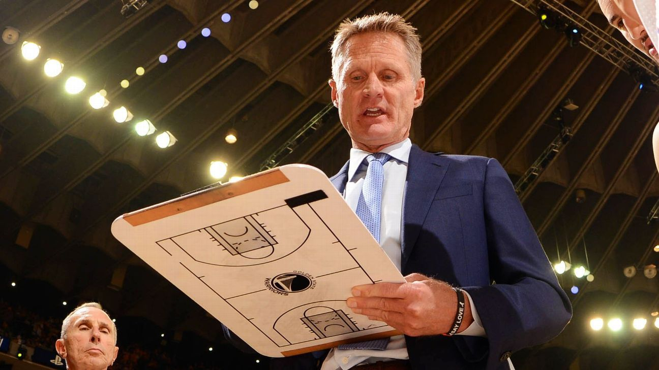 Kerr dispels Rockets' edge: 'Our guys have rings'
