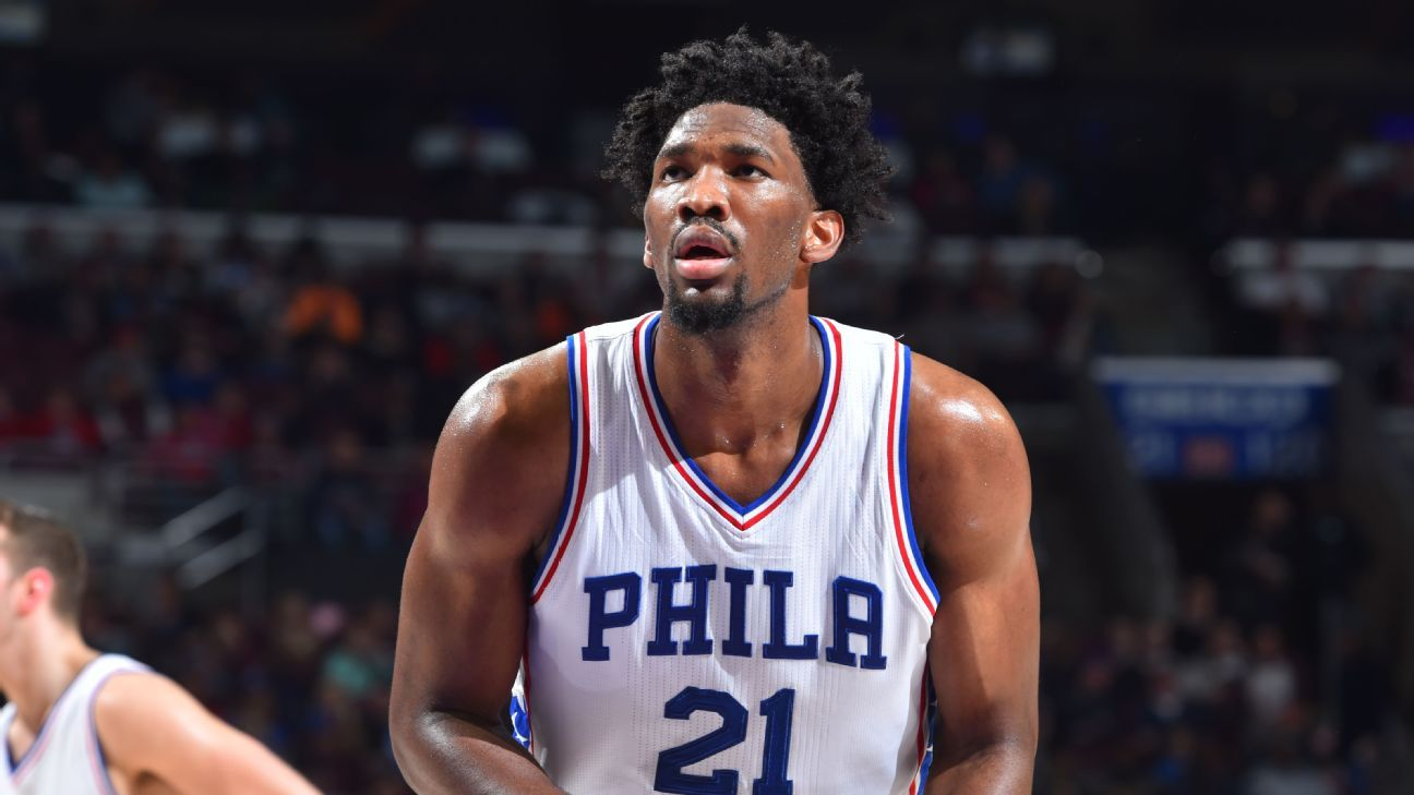 Embiid on All-Rookie after 2 missing seasons