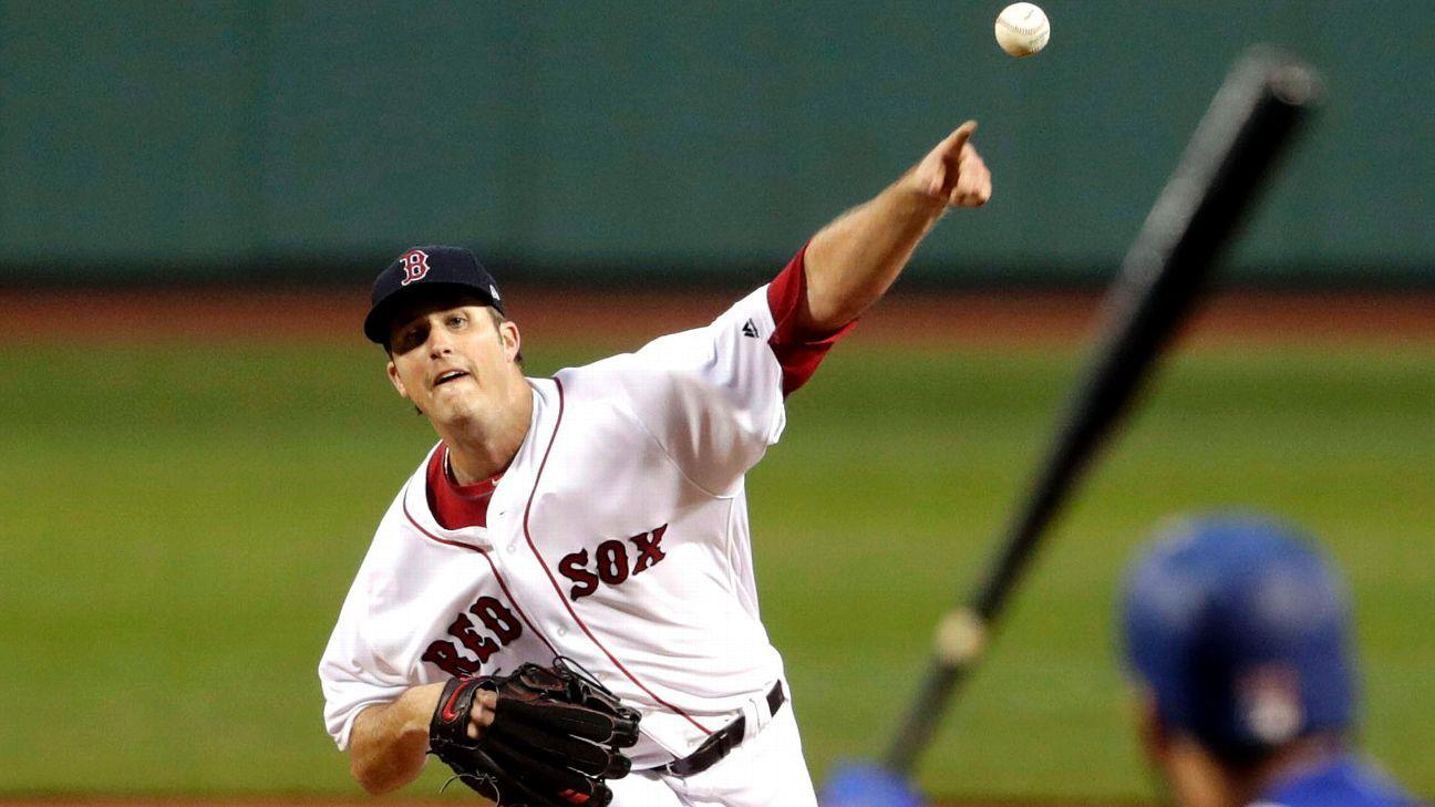 Rocket men: Red Sox pitchers mow down 20 Rangers