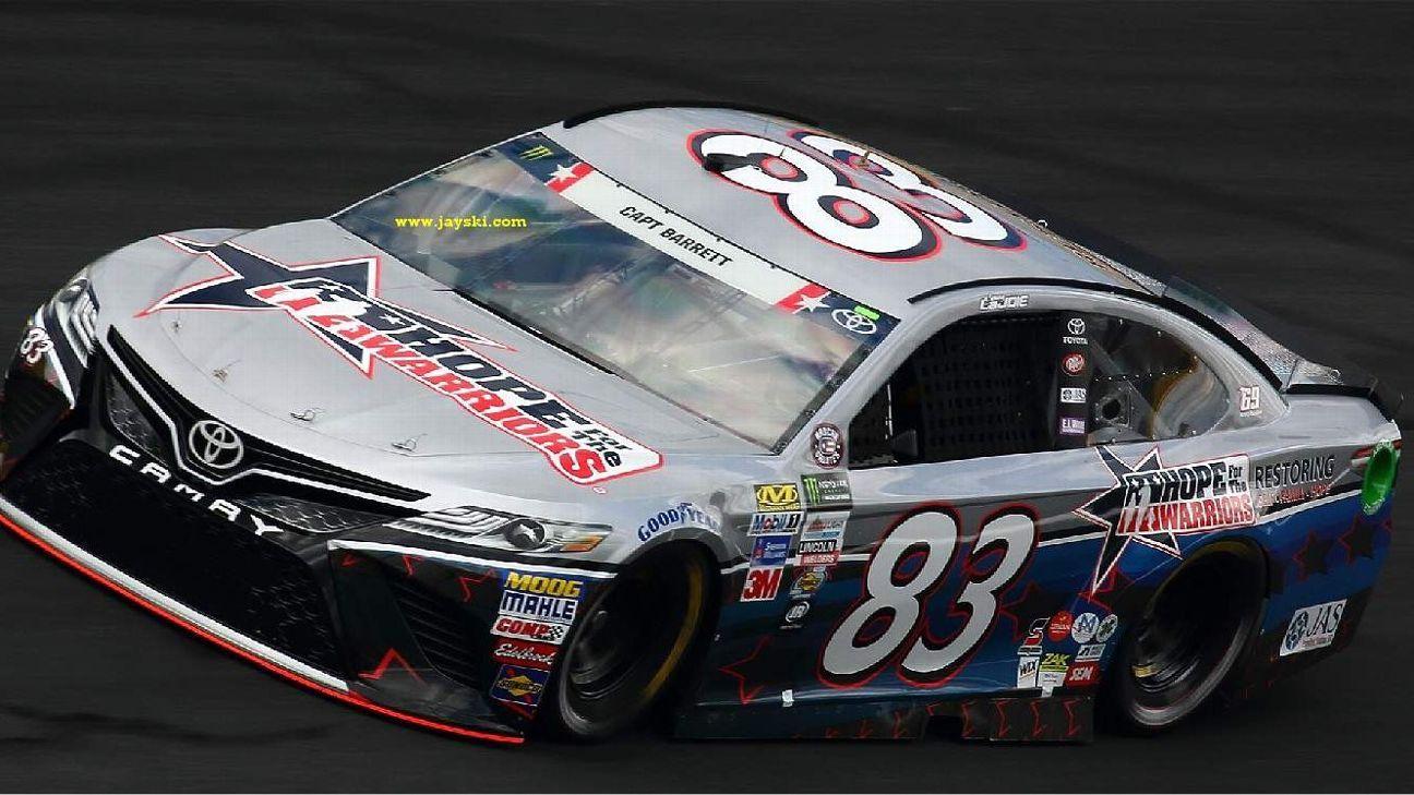 2017 NASCAR Cup Series Paint Schemes - Team #83 BK Racing