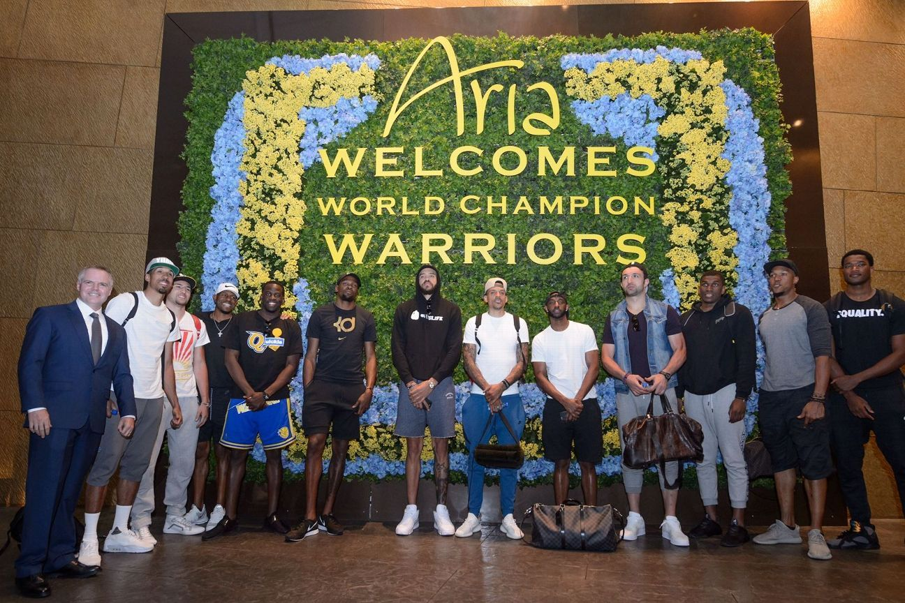 Golden State Warriors victory parade Thursday continues to Las Vegas