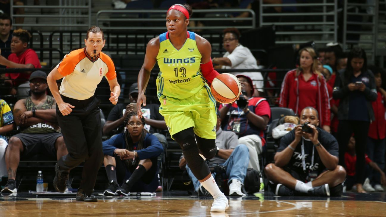 Karima Christmas-Kelly of Dallas Wings out for season due to knee ...