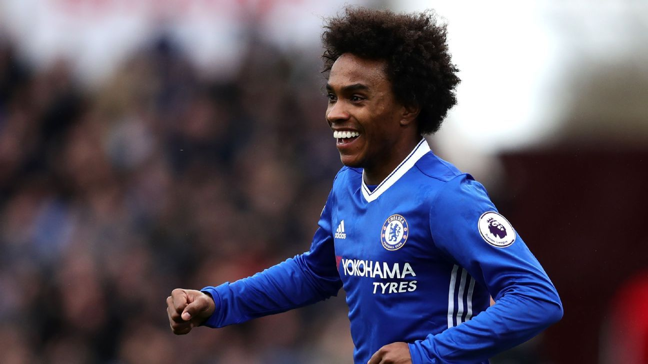 Willian will seek to retake his place in Chelsea s XI in pivotal