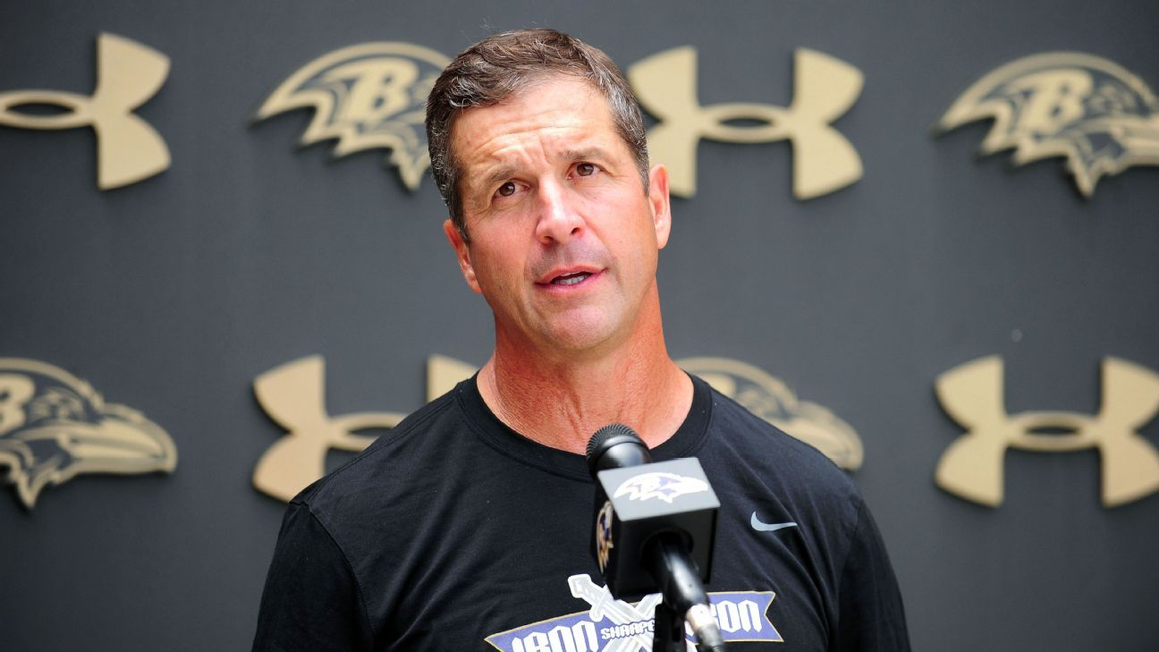 Harbaugh wants to see week warm-up pre-camp