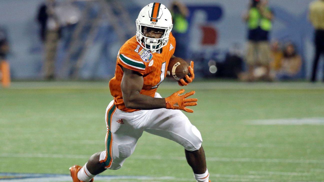 Mark Walton of Miami Hurricanes undergoing season-ending