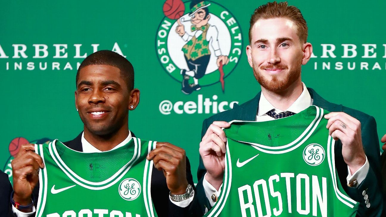 Kyrie praises LeBron; trade about 'potential'