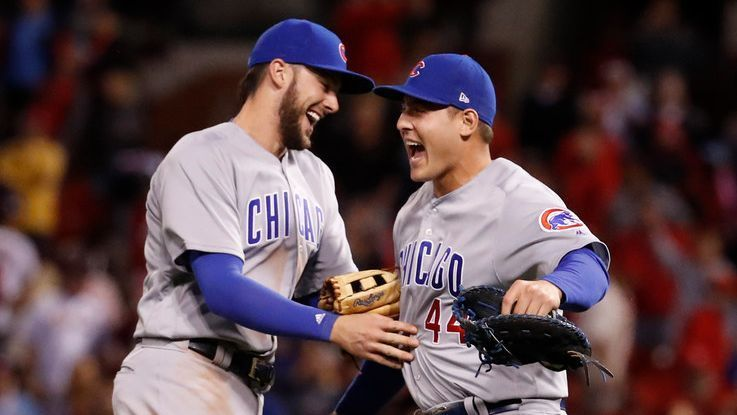 Up-and-down road leads Cubs to familiar spot atop NL Central