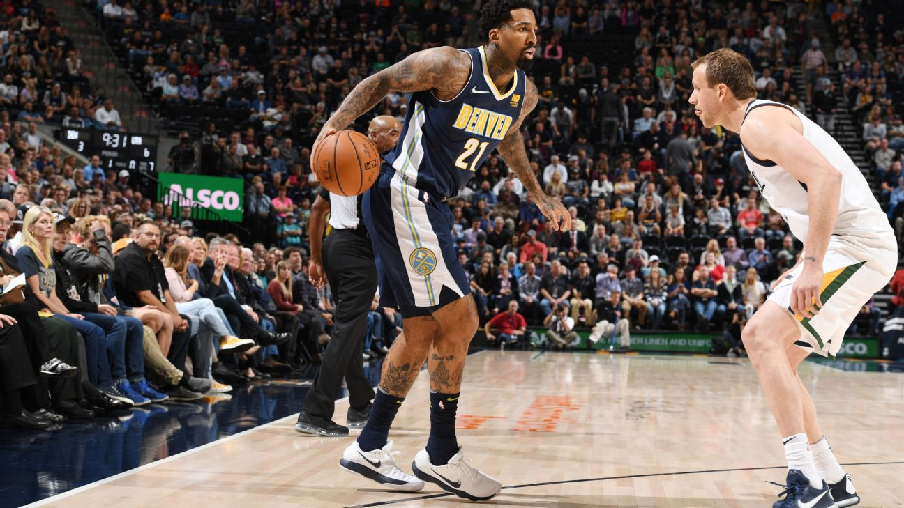 The Denver Nuggets have traded forward Wilson Chandler and a future  second-round draft pick to the Philadelphia 76ers e3a638266