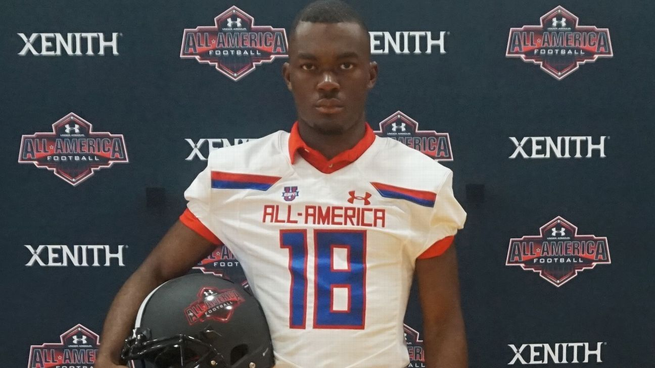Under Armour jersey tour: DB Jalen Preston - On The Trail ...