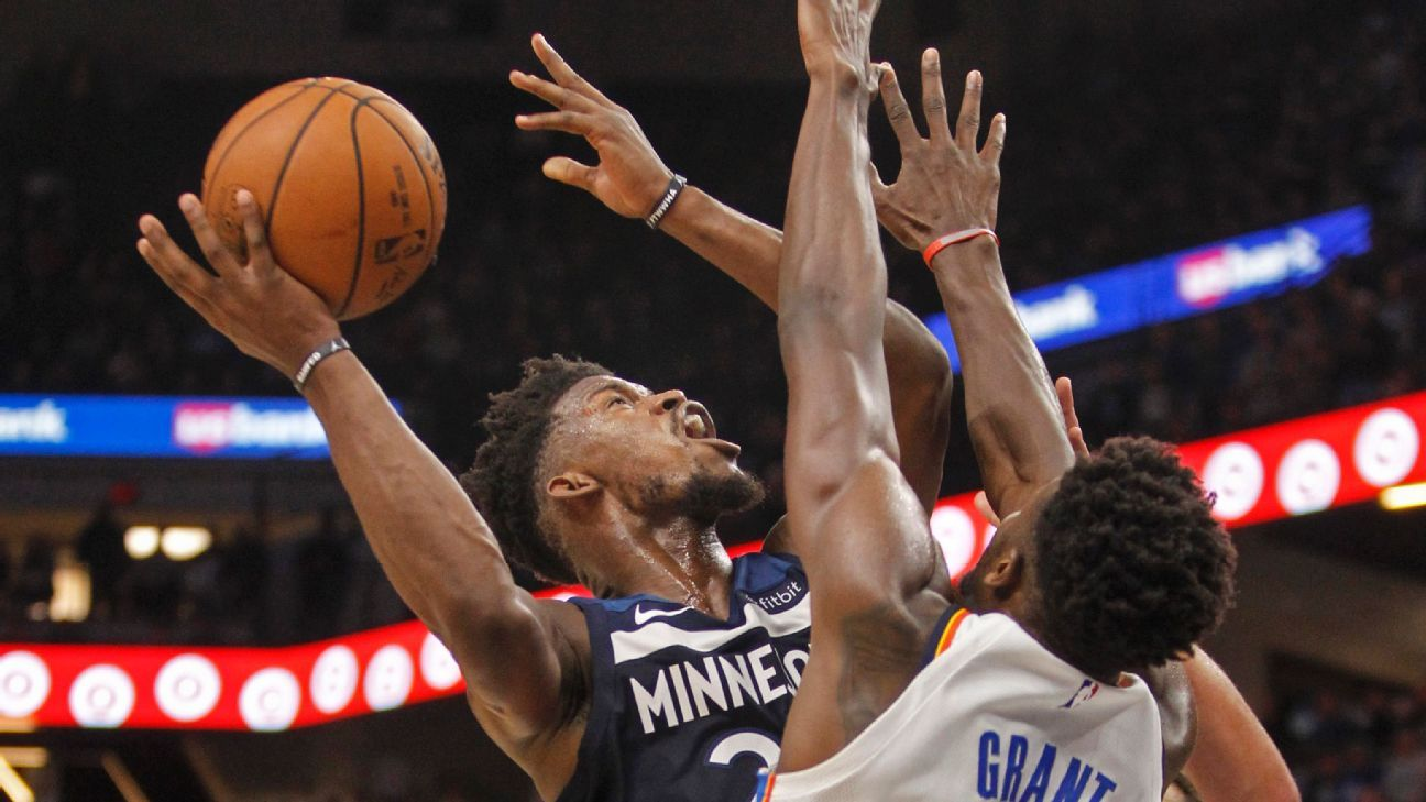 Jimmy Butler makes healthy contribution for Minnesota Timberwolves - NBA- ESPN