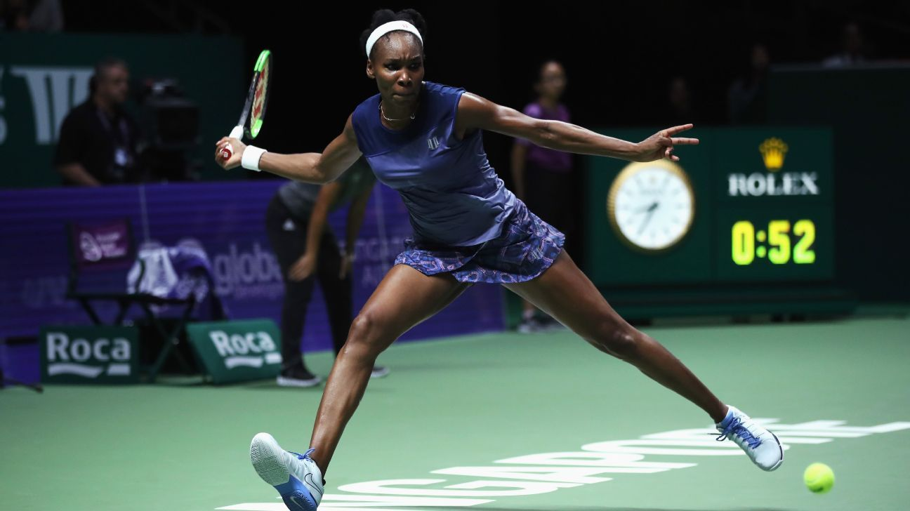 WTA Finals tennis - Venus Williams leaves Singapore with newfound perspective