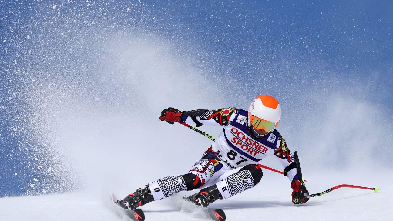 winter olympics skier