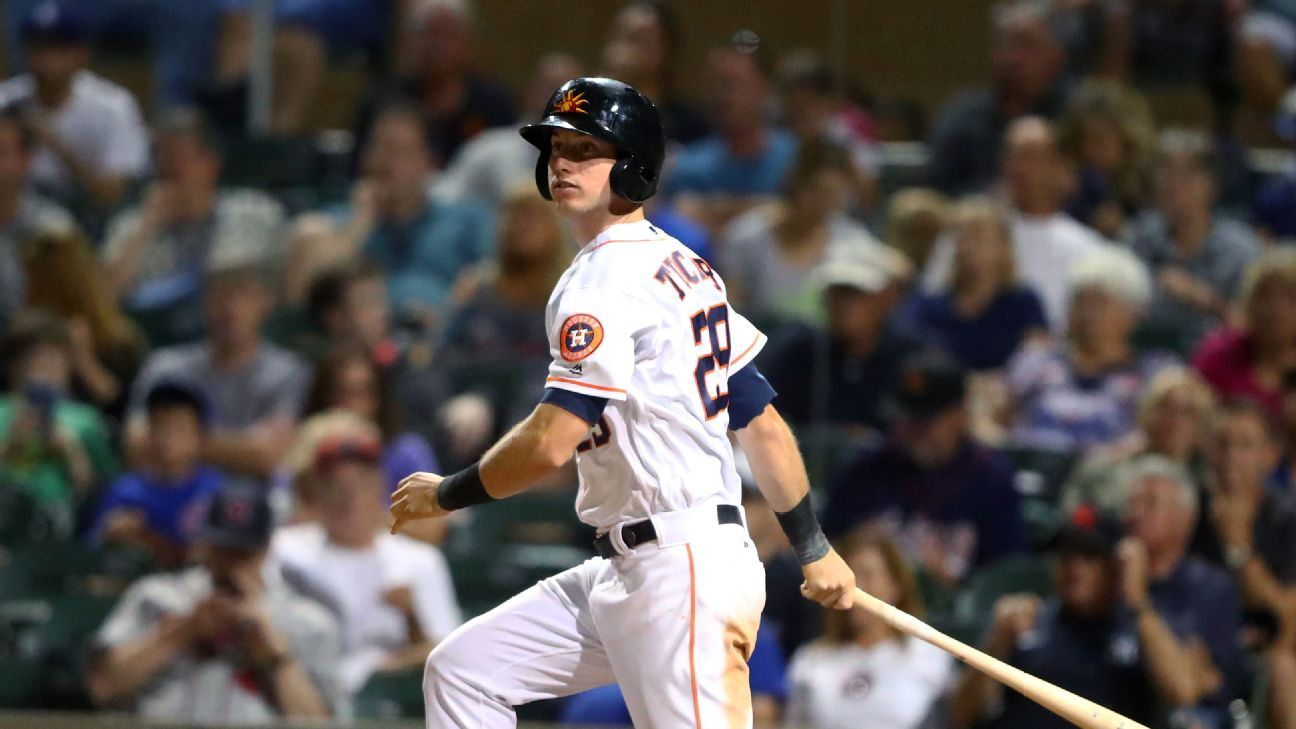 Astros call up top outfield prospect Tucker