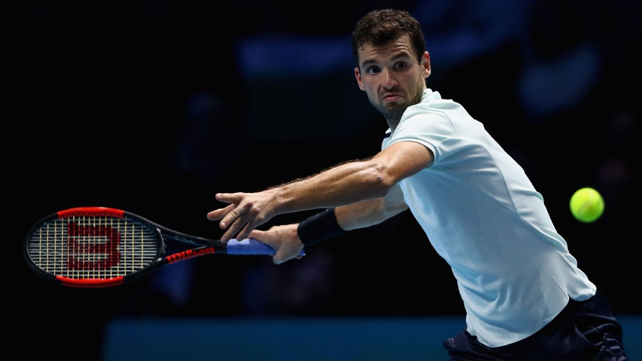 Grigor Dimitrov into 2nd round at French Open