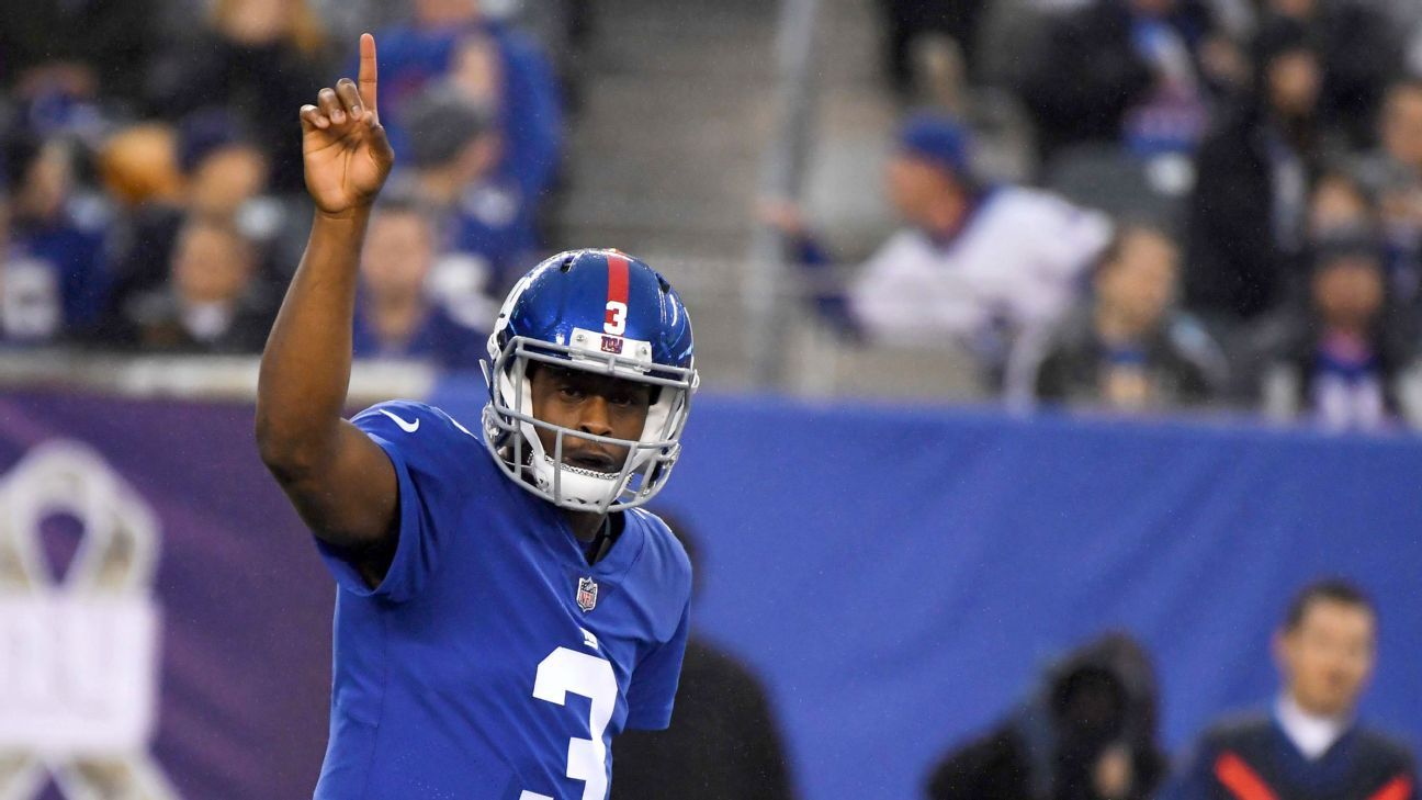 Geno Smith, who served as the Giants' backup quarterback last season, will join the Chargers on a one-year deal, a source told ESPN's Adam Schefter.