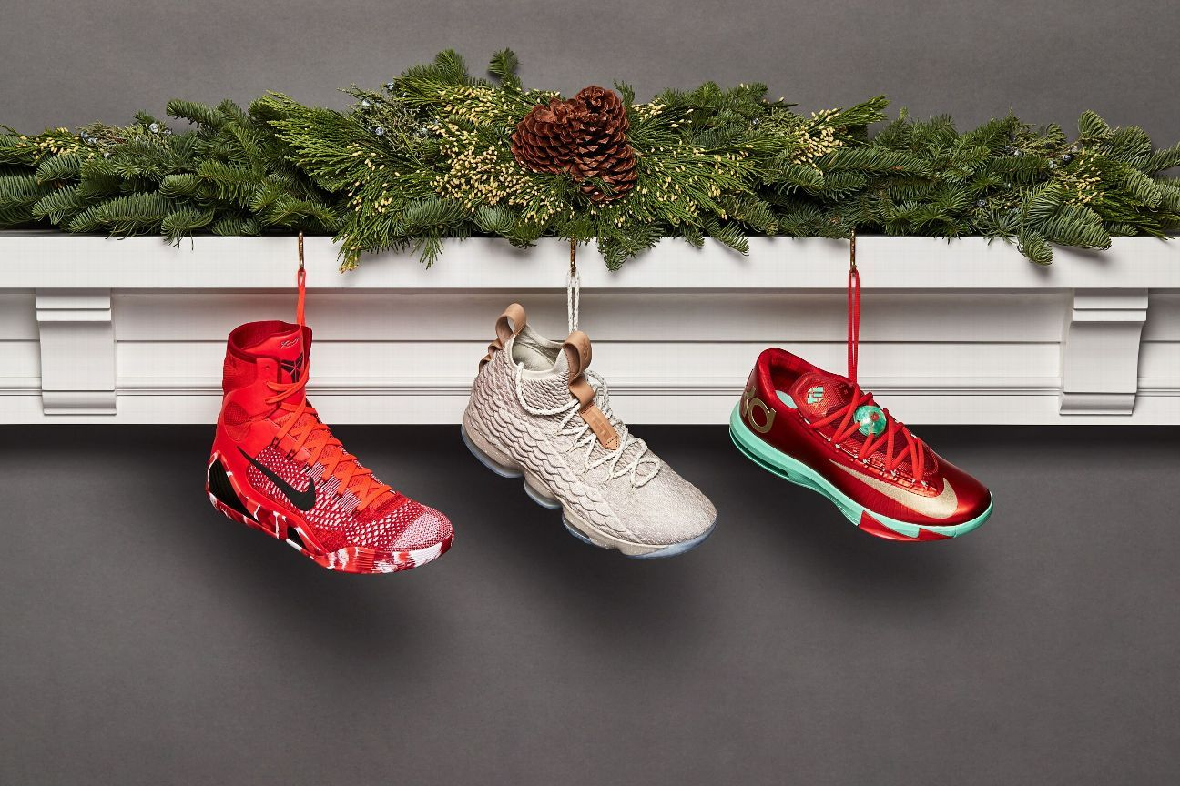 8200157f6535 Past Christmas Day sneakers from LeBron James