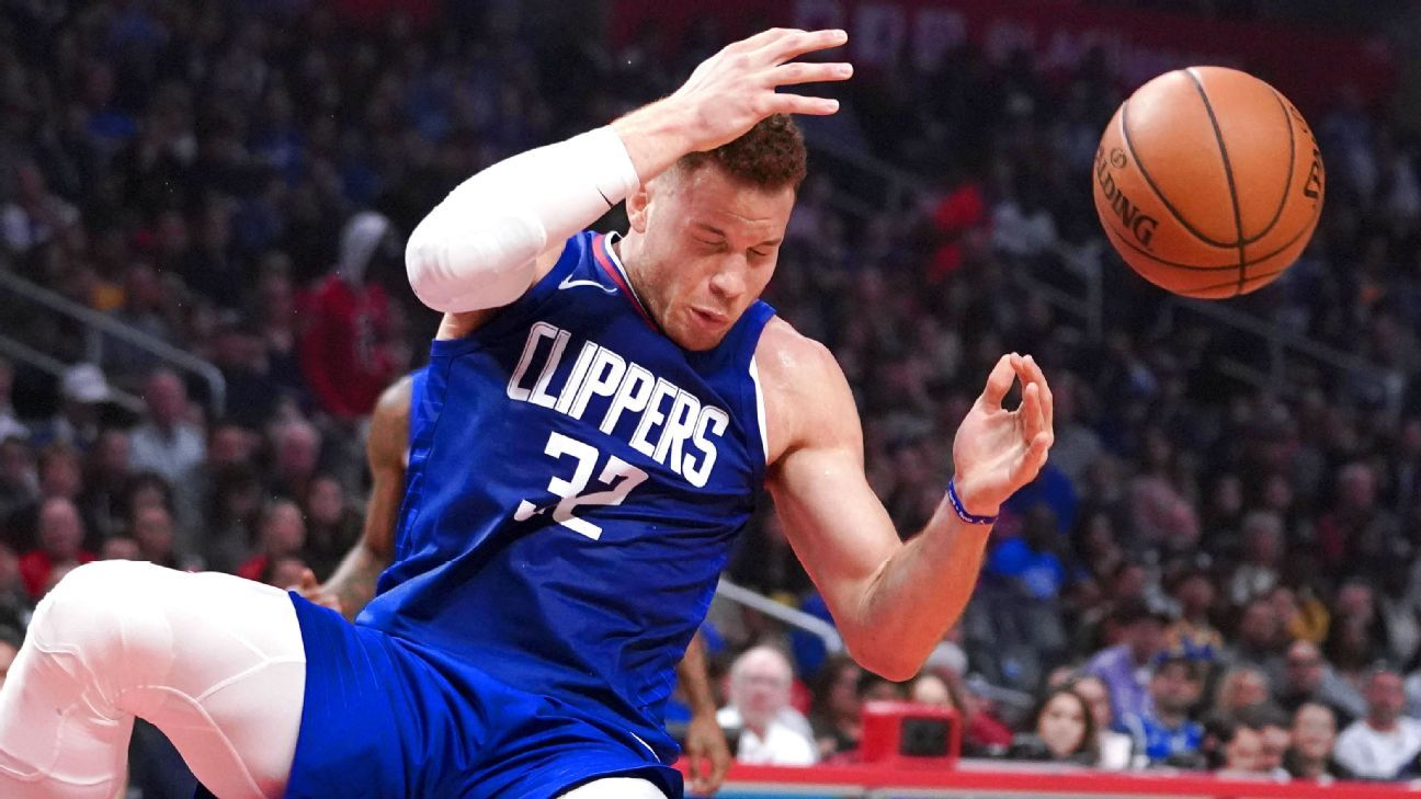 Blake Griffin of LA Clippers out with concussion