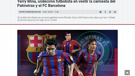 Barcelona fala sobre