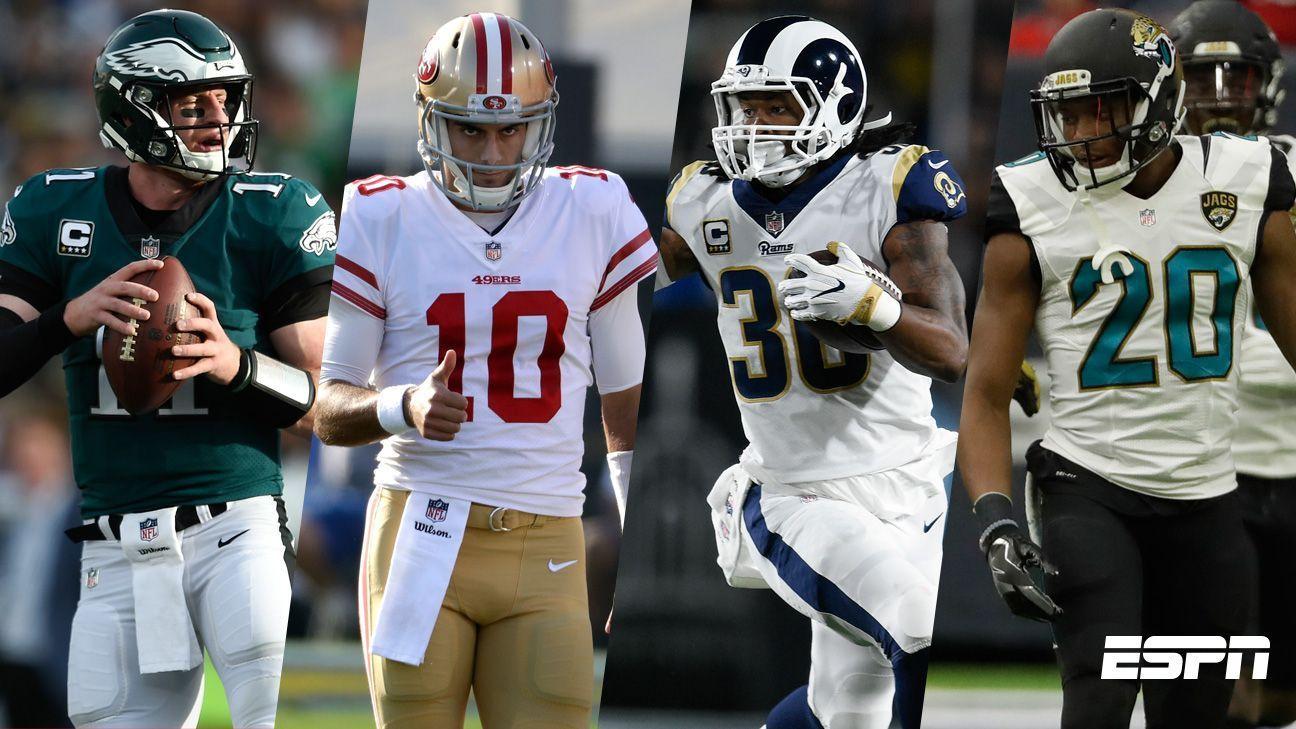 La NFL presume sus nuevas estrellas tras un brillante 2017