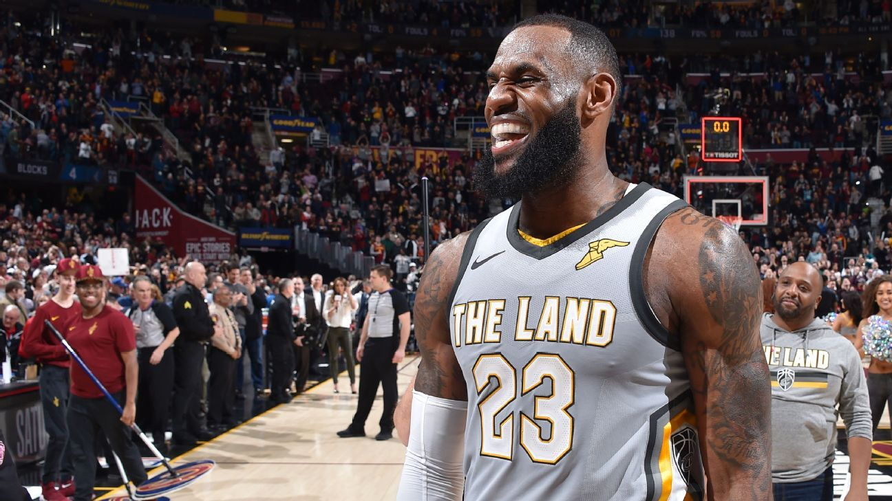 LeBron James ready to get working with new members of ...