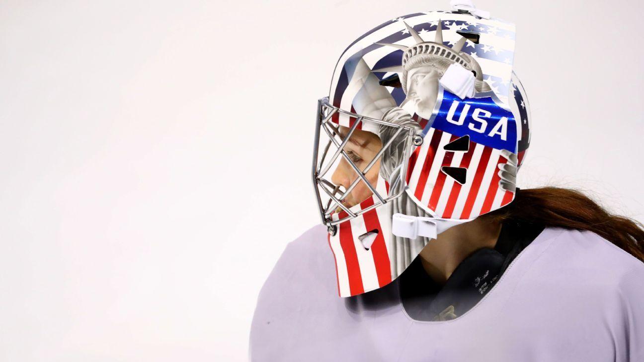 USA Hockey: Lady Liberty goalie masks get OK