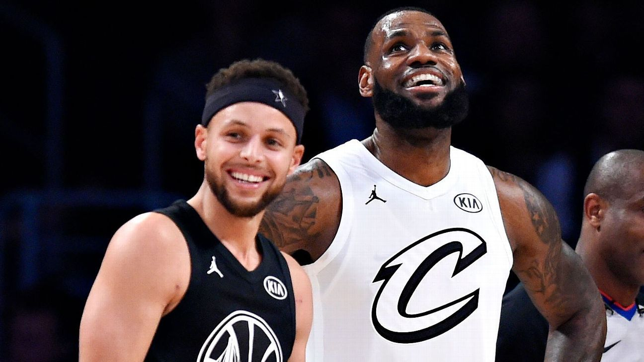 Despite trailing Team Stephen most of the game, Team LeBron earns the best All-Star grade
