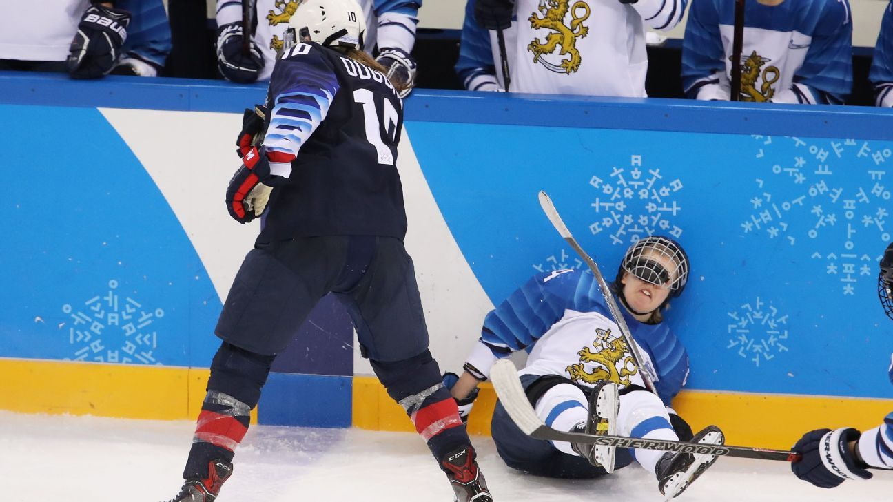 A 5-0 shadow  Finland is behind the U S  and a defining moment is on the horizon