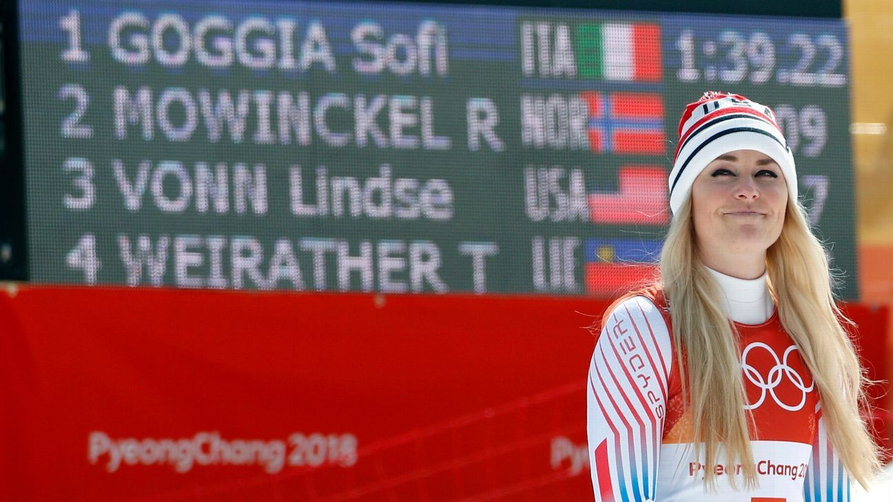 Vonn injures knee and will miss Lake Louise races