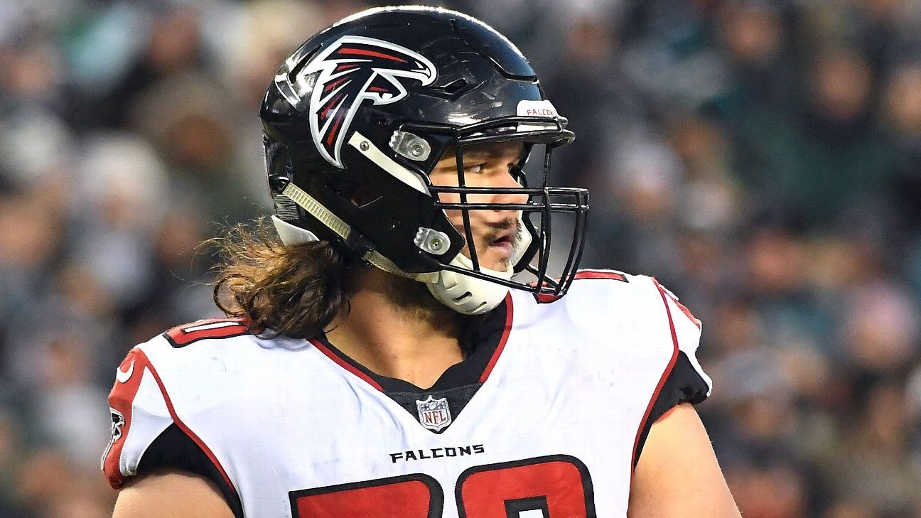 The Falcons have agreed to a five-year extension with LT Jake Matthews, the sixth overall pick in the 2014 draft. A source said the deal is worth $75 million.