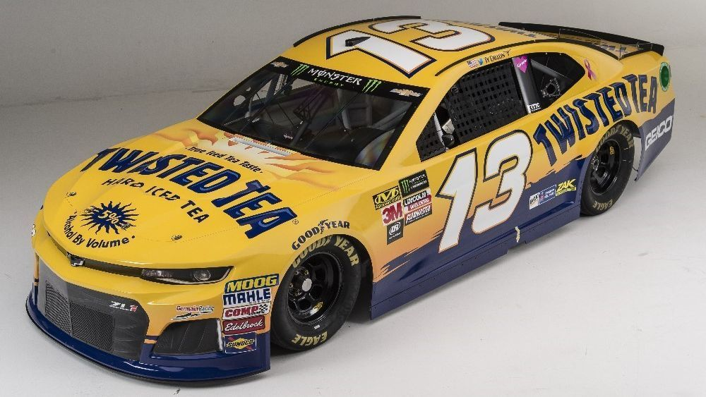 Twisted Tea on board with Dillon this weekend