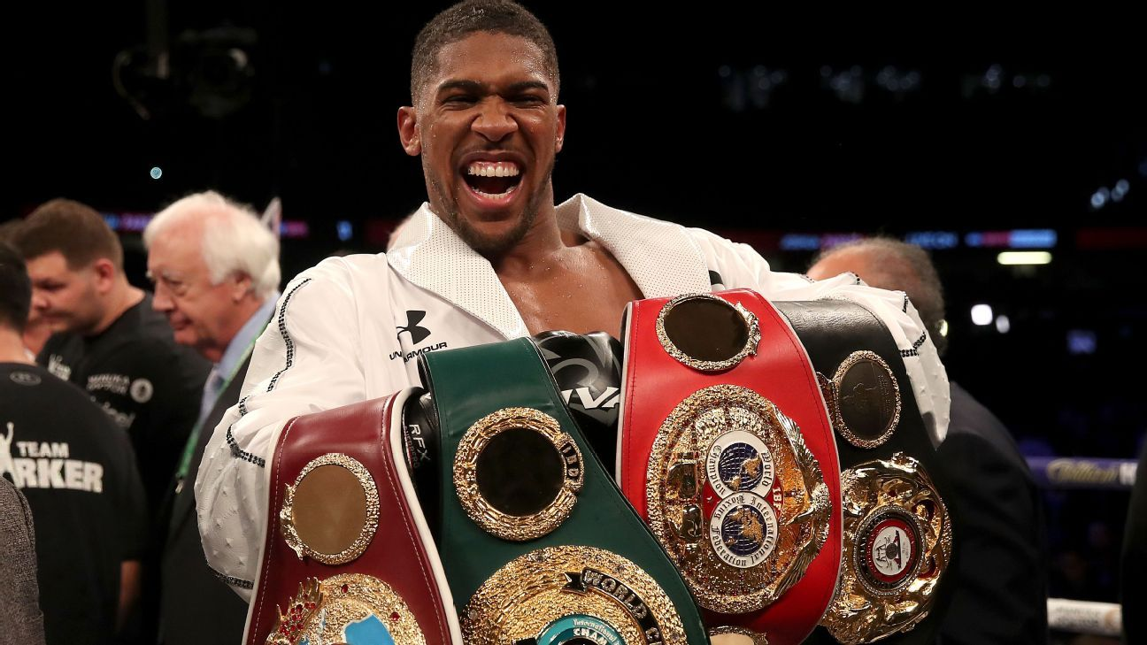 Anthony Joshua is further proof of Nigeria's hidden promise - Sports