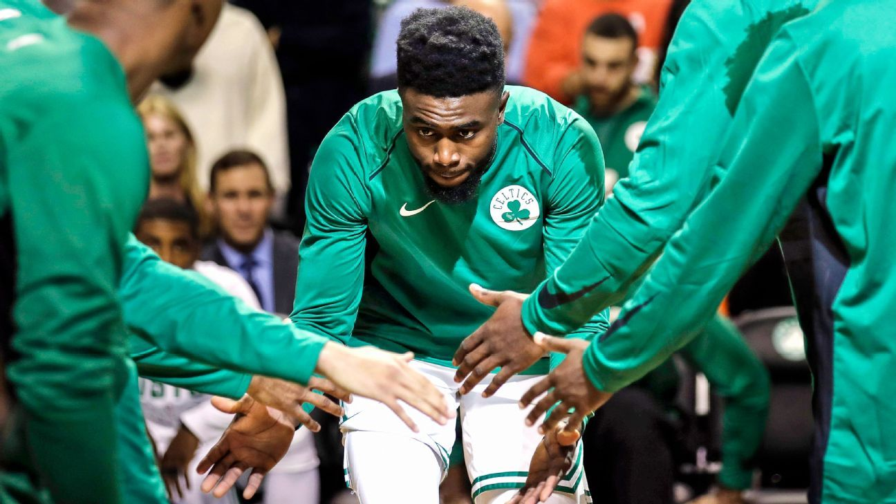 The revival of Jaylen Brown, the Celtics' surging star