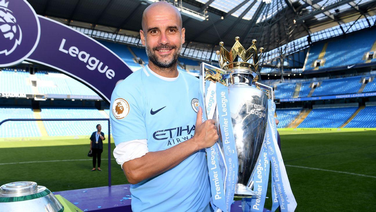 Guardiola extends Man City deal through 2021