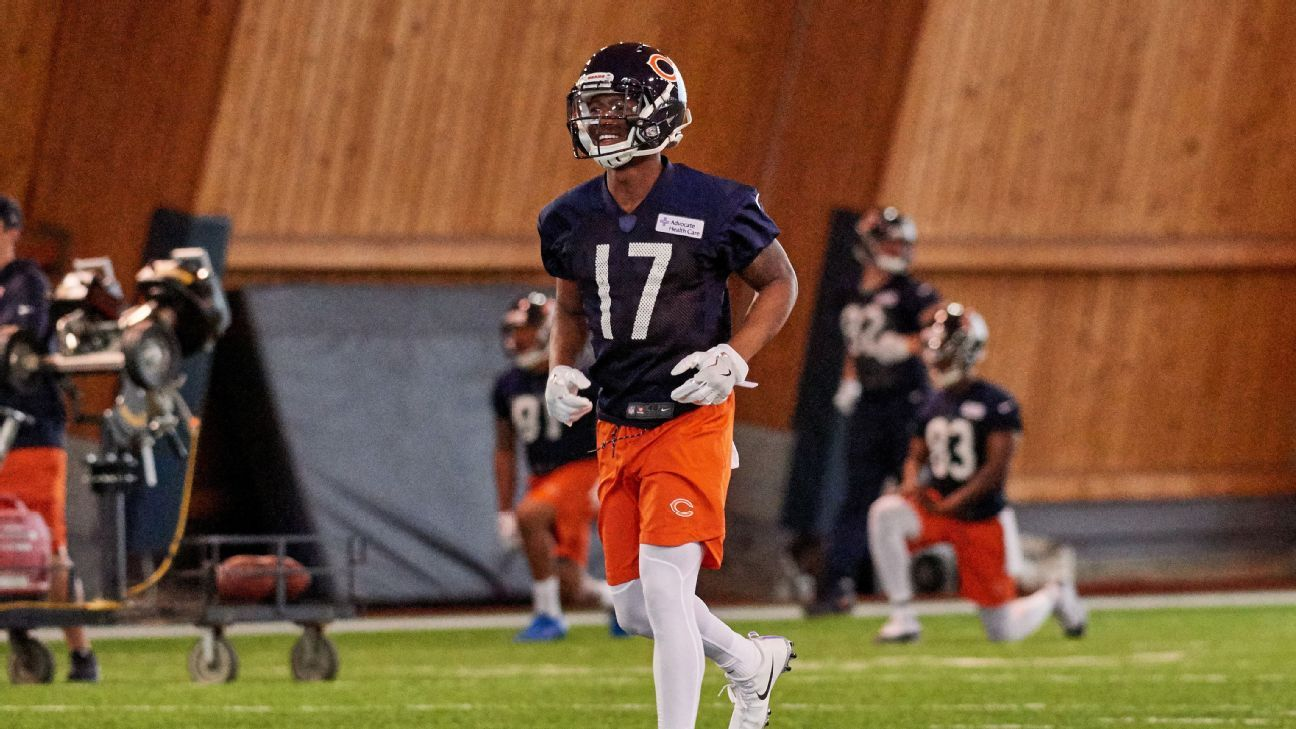 Can rookie Anthony Miller be next Alshon Jeffery for Bears? - NFL Nation- ESPN
